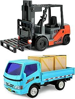 Amazon com: MotoTec Big Linde Forklift, Red: Toys & Games