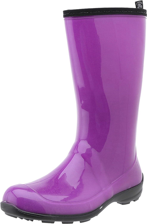 Patent Dewberry Kamik Women's Heidi Rain Boots