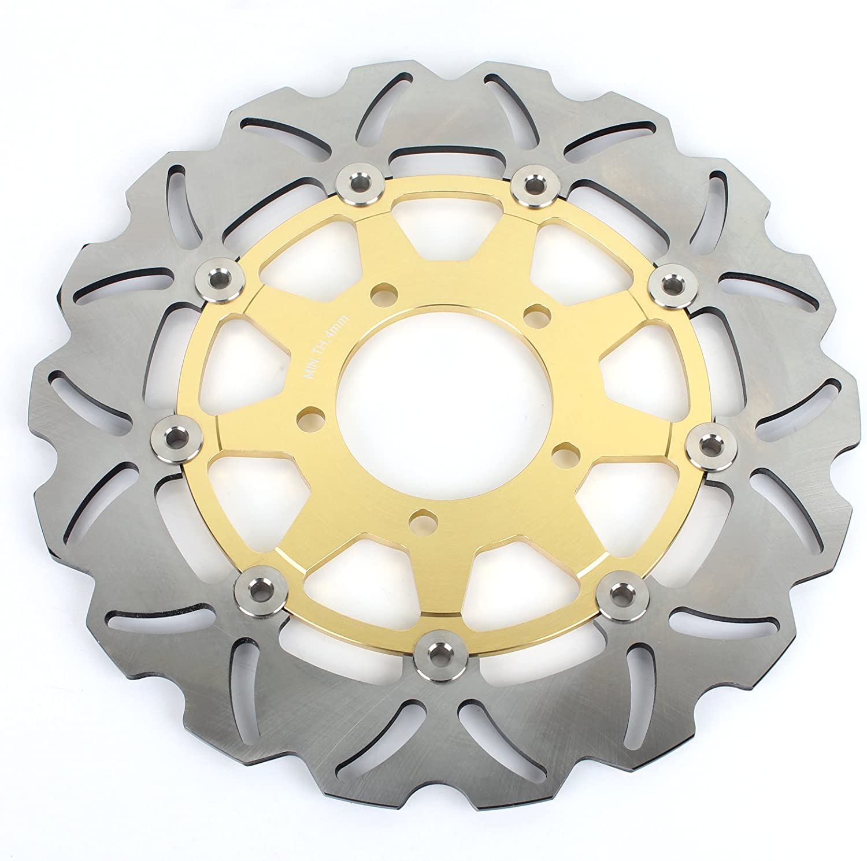 Front Brake Discs Rotors for Kawasaki ZX14 ZX-14R ZZR1400 GTR1400 2006-2015