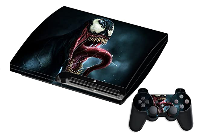 Buy GADGETS WRAP Printed Venom 4 Theme Skin for PS3 Console