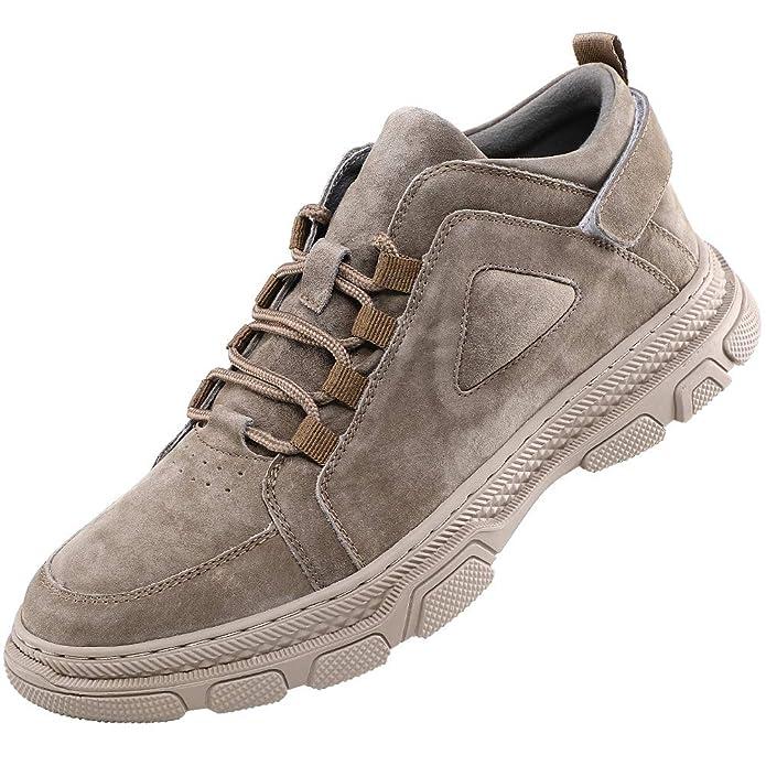 XIULI Mens Hiking Shoes Casual Trekking Shoes Outdoor Walking Shoes Work Shoes