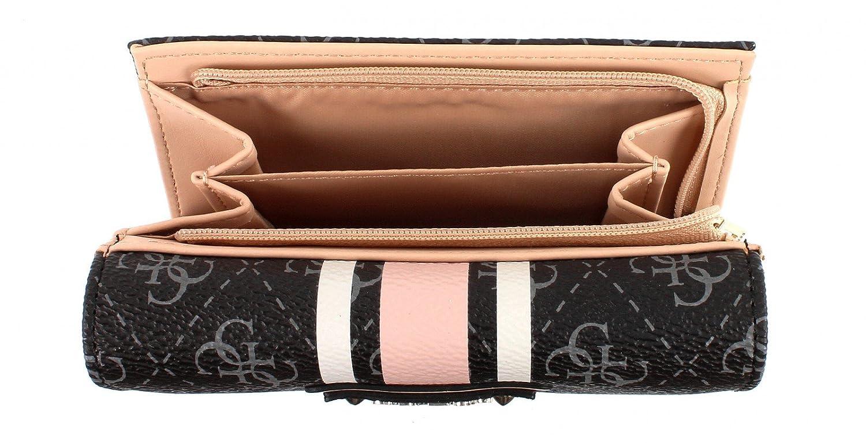 Portefeuille et porte-monnaie Guess de la gamme Logo Sport pour femme   Amazon.fr  Chaussures et Sacs 23b579e64cc