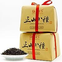 梅府茗家 正宗武夷山一级正山小种红茶 古法纸包250克×2 共500克