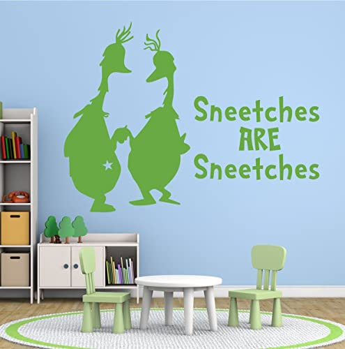 Amazon.com: Dr. Seuss Wall Decals - Sneetches Are Sneetches - Dr ...