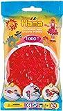 Hama Beads 1,000 Bead Refill Bag - Red