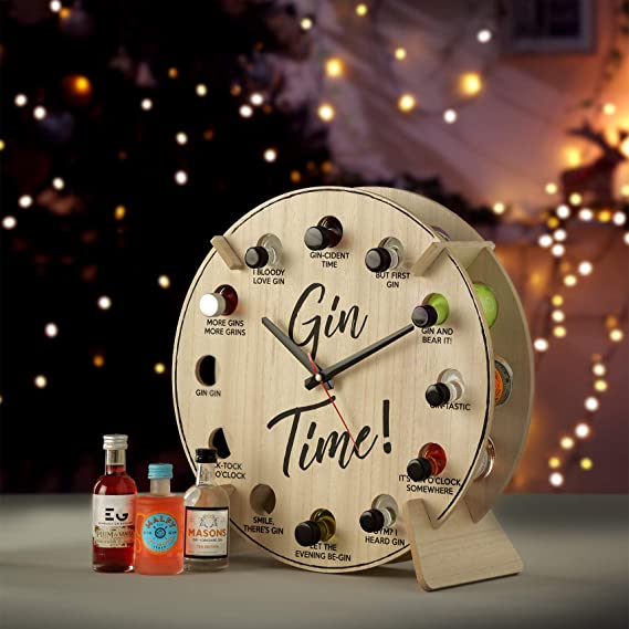 Gin Advent Clock (with alcohol)