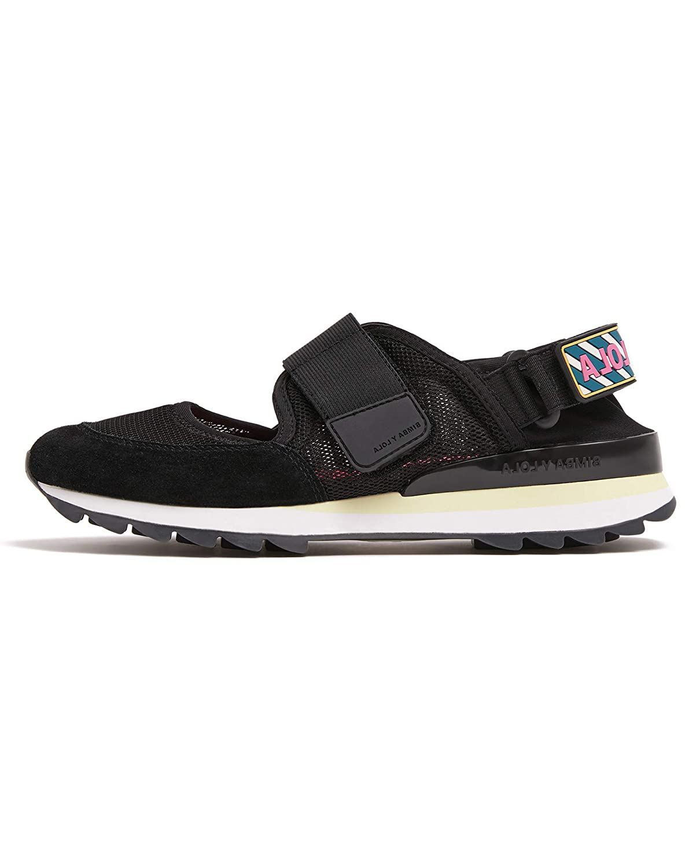 big sale d100e f1642 Amazon.com | Bimba y Lola Women Black Technical Sneaker ...