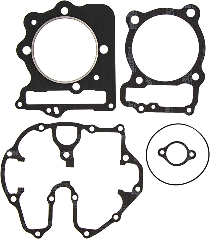 ECCPP New Cylinder Piston Ring Gasket for 1999-2008 Honda Sportrax 400 TRX400EX Compatible fit for Cylinder Piston Gasket Top End Kit