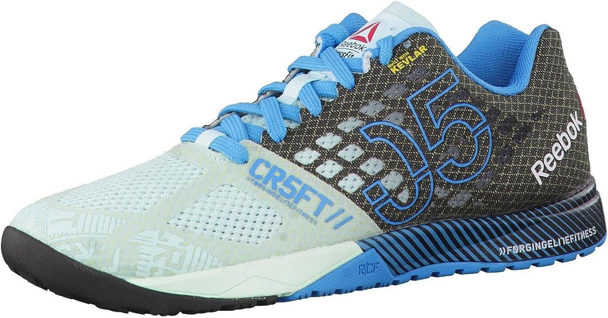Reebok Zapatillas R Crossfit Nano 5.0 Negro/Turquesa EU 36: Amazon.es: Zapatos y complementos