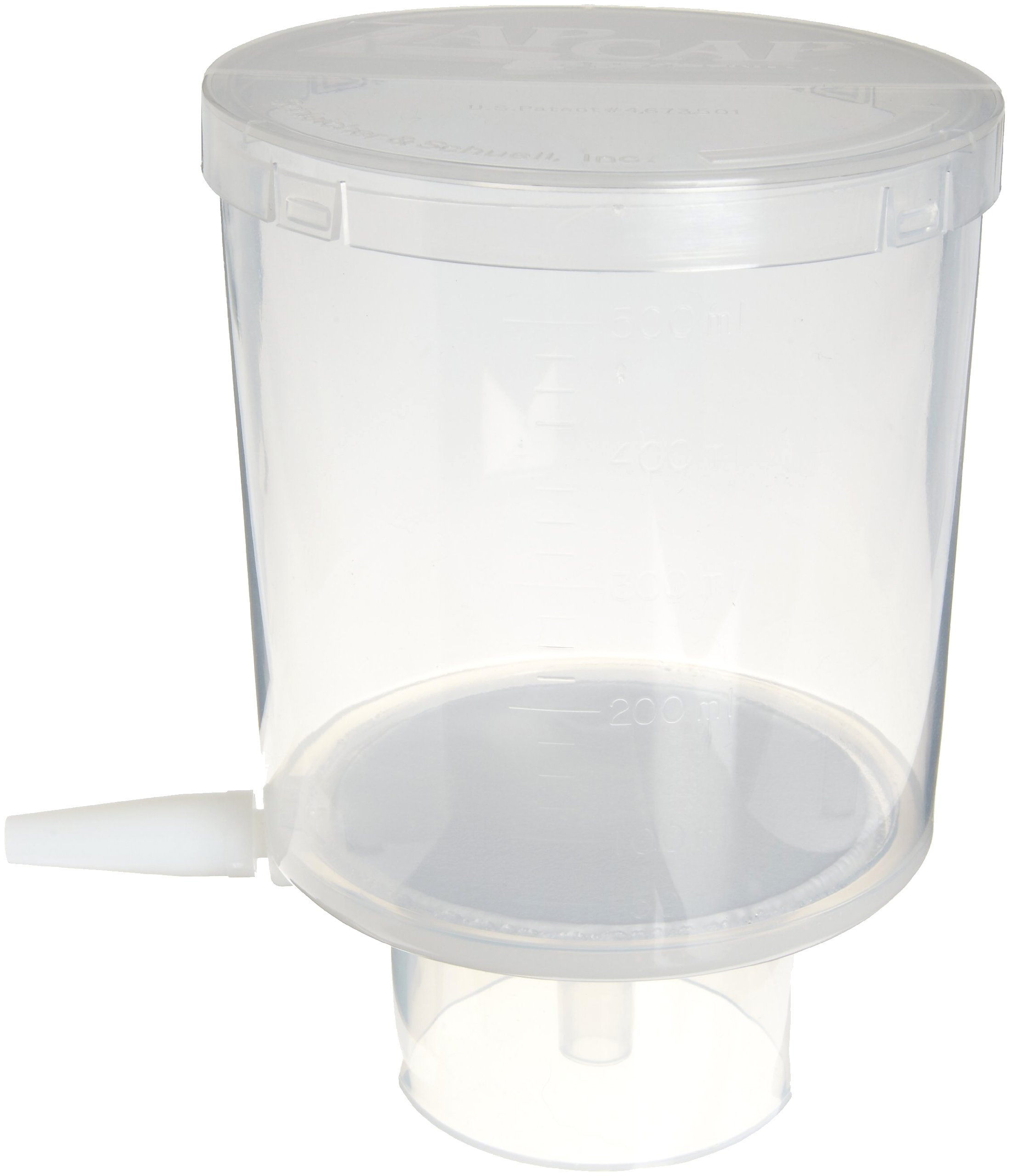 Whatman 10443421 ZapCap Cellulose Regenerated Bottletop Filter Unit, Nylon Membrane, 0.2 Micron, 500mL Volume (Pack of 12)