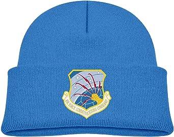 ADGoods Kids Children Air Force Communications Command Beanie Hat Knitted Beanie Knit Beanie For Boys Girls Gorra de béisbol para niños