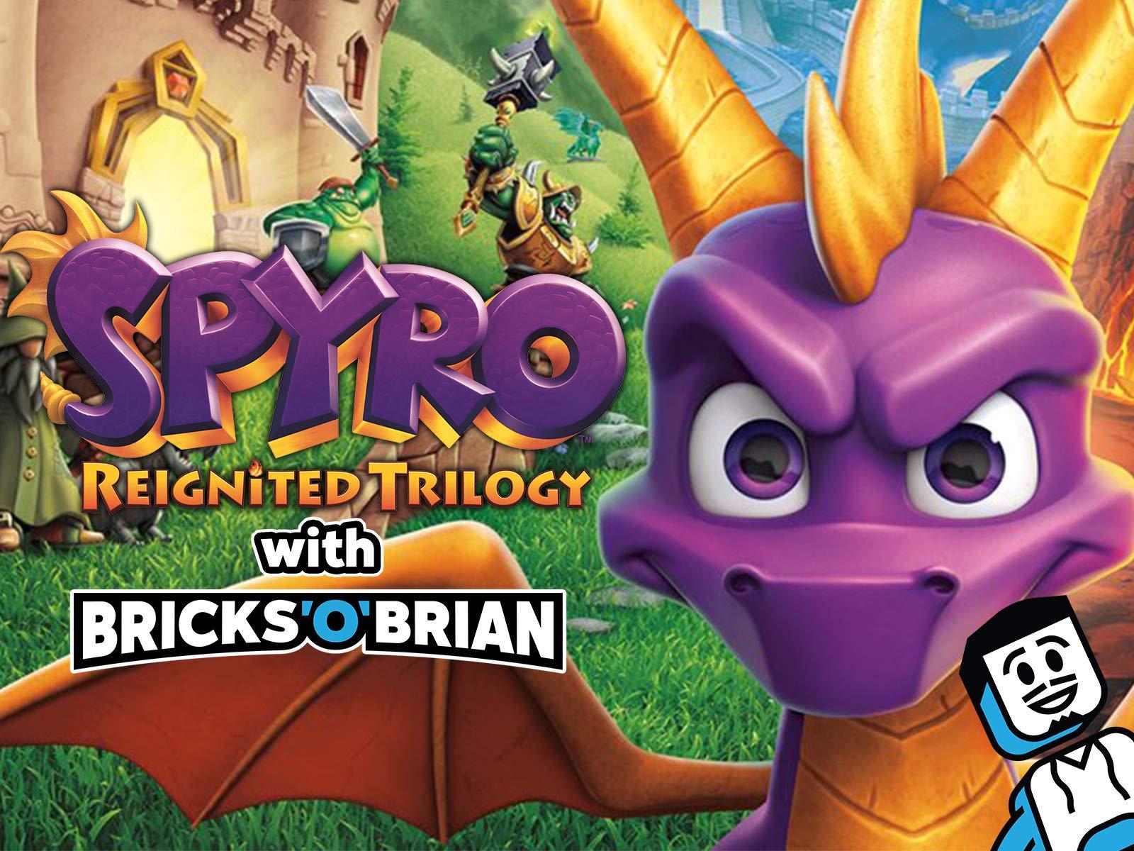 Clip: Spyro Reignited Trilogy with Bricks 'O' Brian! on Amazon Prime Video UK