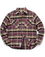(ヒューストン) HOUSTON 40120 L/S メンズ フランネル チェック ビエラ ワークシャツ hot6629061