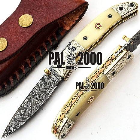 PAL 2000 Cuchillo Plegable, Navaja de Bolsillo, Cuchillo ...