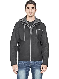 G by GUESS Mens Subzero Wool Blend Jacket