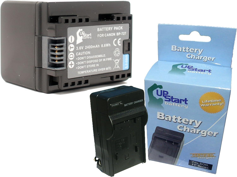 3x Infochip Battery 2400mAh for Canon Legria HF R38 HF R306