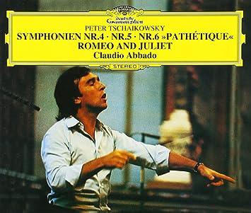 チャイコフスキー:交響曲第4番, 第5番, 第6番「悲愴」, 他