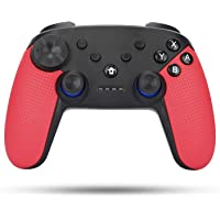 Wireless Controller for Nintendo Switch, TGJOR Wireless Switch Rechargeable Gamepad Compatible with Nintendo Switch Console, Built-in Motor with Dual Shock, Gyro Axis and Turbo