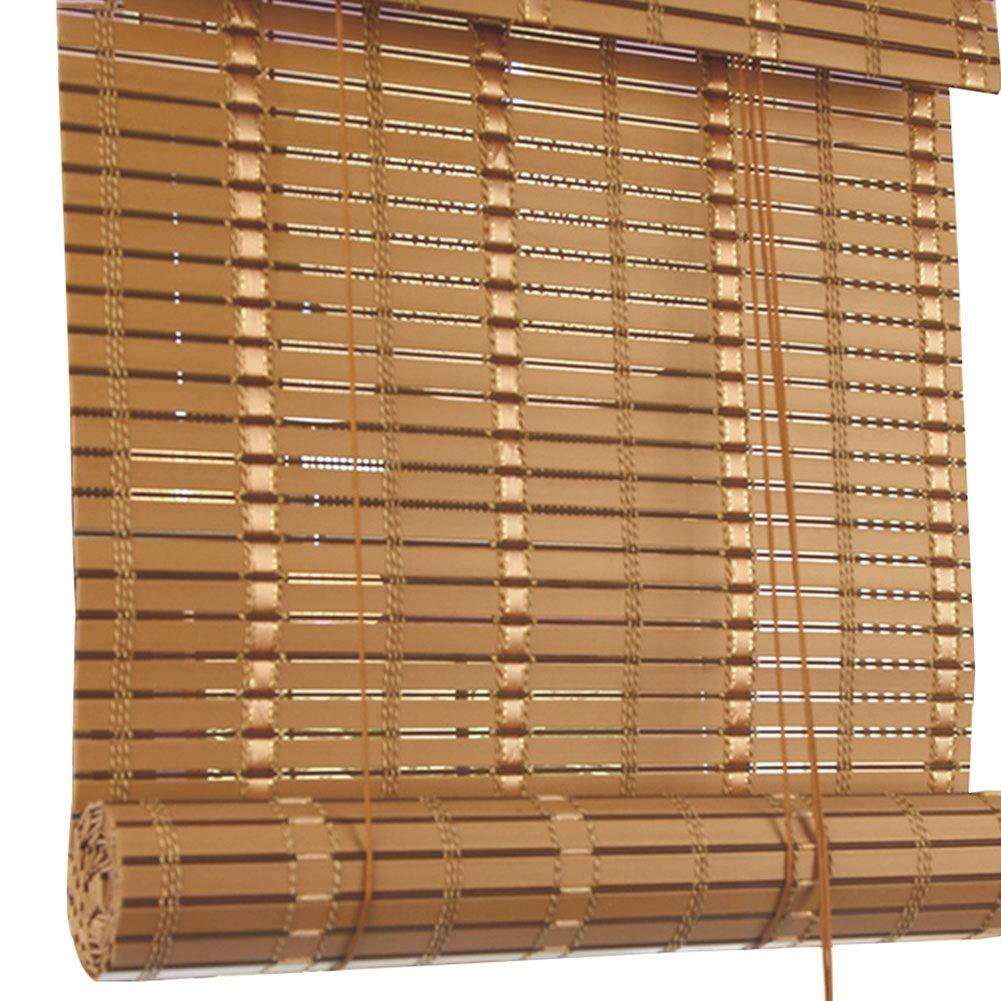CAIJUN Bambusrollo Raffrollo PVC-Material Wasserdicht Brandschutz Sonnenschutz Draussen Partition Partition Partition Vorhang, 4 Stile, Benutzerdefinierte Größe (Farbe   C, größe   140x180cm) B07PXGDGF7 Seitenzug- & Springrollos d2f044