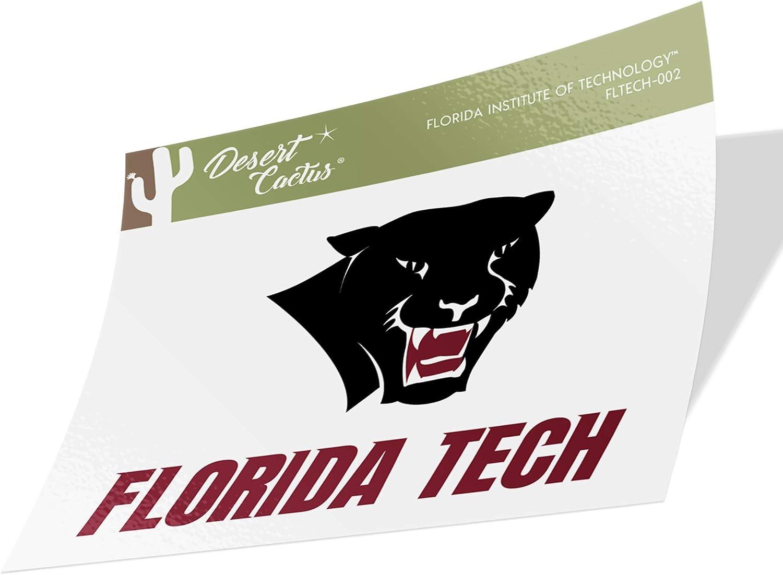 Florida Institute of Technology Panthers NCAA Sticker Vinyl Decal Laptop Water Bottle Car Scrapbook Family Full Sheet