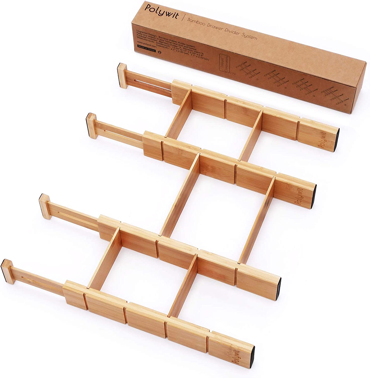 Bamboo Drawer Inserts