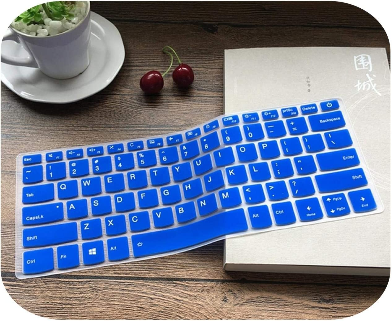 Silicone Laptop Keyboard Cover Protector for Lenovo Yoga 330 530 730 13//Yoga 530 14 for 13.3 for Lenovo Yoga 720 13 720 13Ikb-Rose