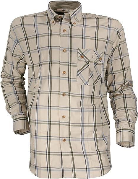 Percussion Rambouillet-Camisa caza, color beige, color crudo, tamaño medium: Amazon.es: Ropa y accesorios