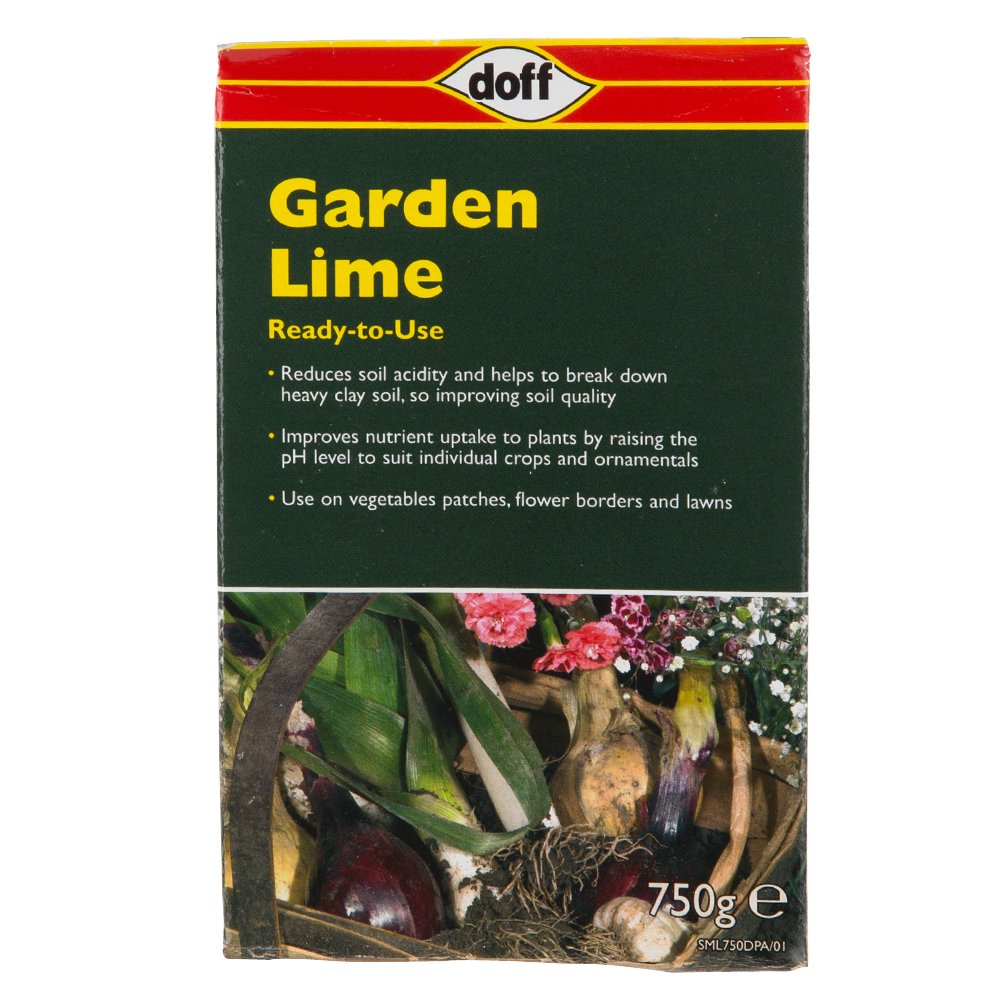 Doff Ready to Use Soil Acidity Regulator Garden Lime 750g