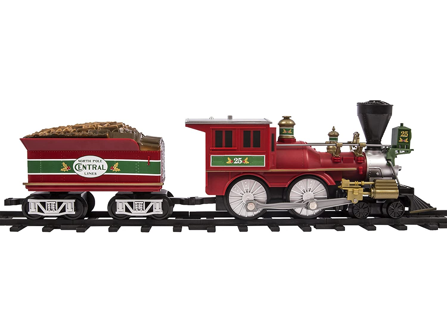 Amazon.com: Lionel North Pole Central Ready to Play Train Set: Toys ...