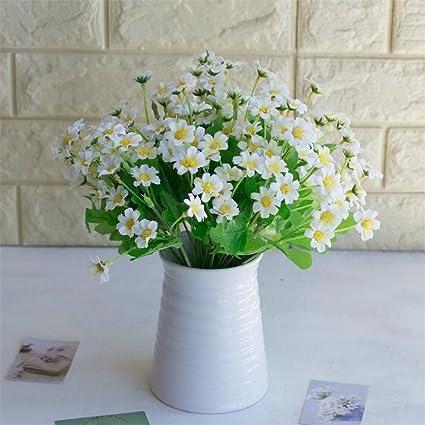 30 Head Narcissu Lily Flower Artificial Floral Silk Wedding Home Decor 5 Colours