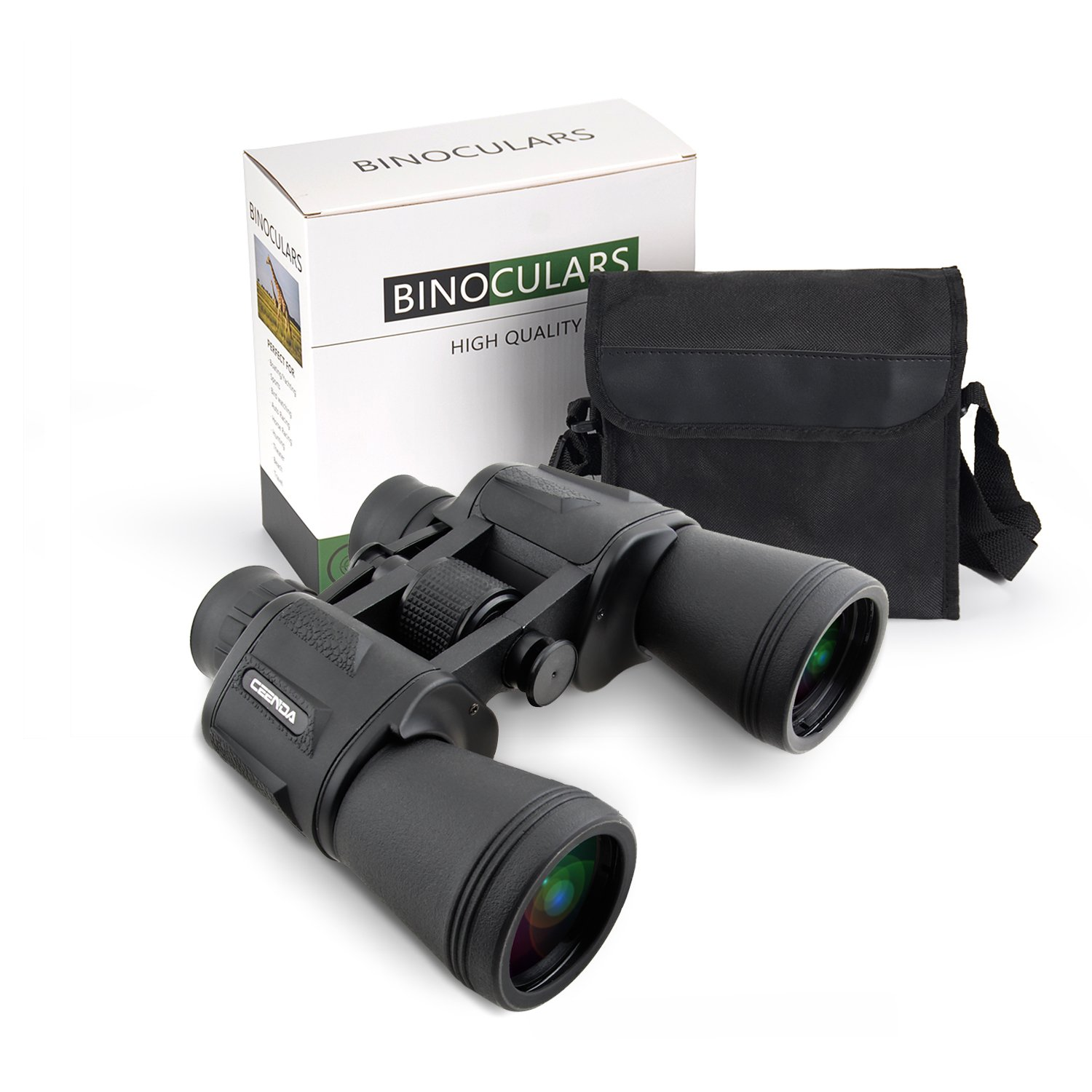 20x50 High Power Military Binoculars, BAK4, Large Eyepiece, Compact and Waterproof Binoculars Telescope with Multilayer-coated Lenses for Adult Bird Watching Astronomy Football Safari Sightseeing Clim by RONHAN