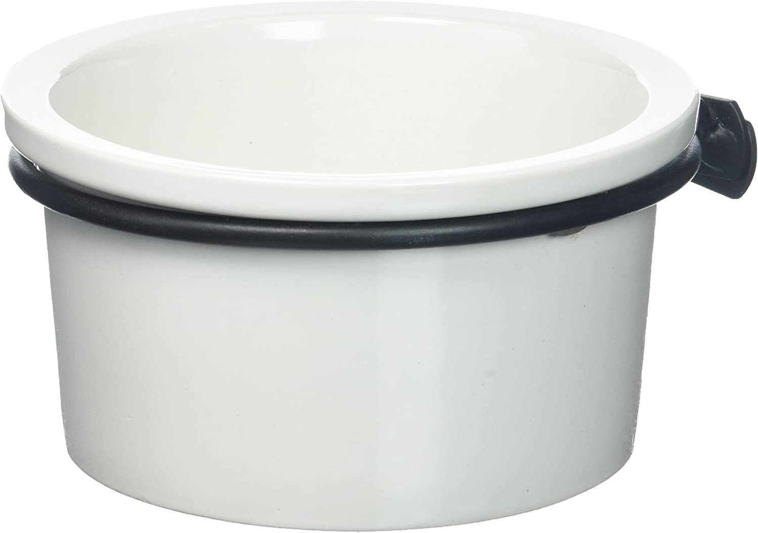 Prevue Pet Products BPV6401 Ceramic Marble Crock Dish Birds Cups, 14-Ounce, Assorted colors