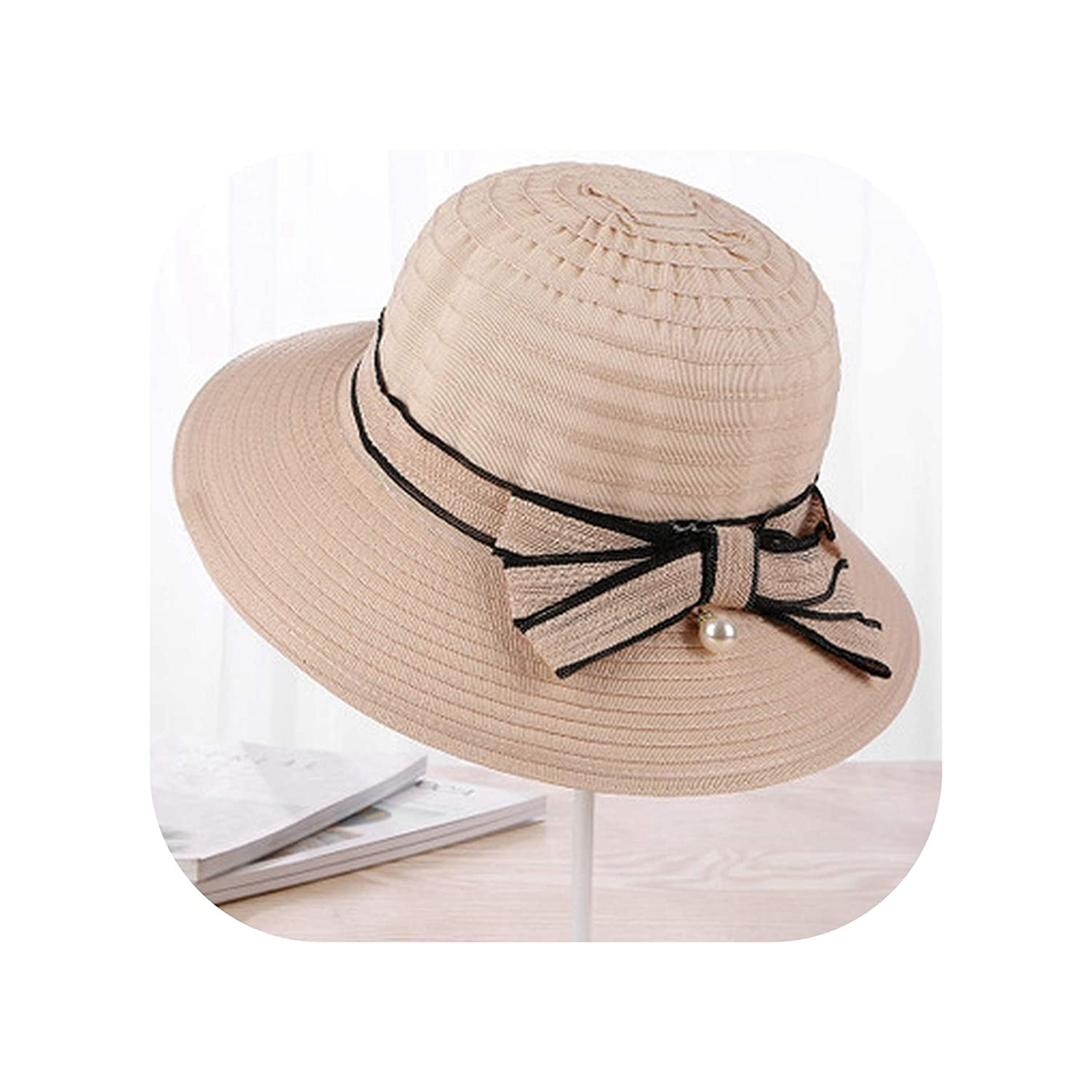 8522464a0 Spring Summer Hats for Women Sun Hat Cloth Bow Fisherman Hat Female ...