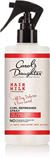 product image for Carol's Daughter Hair Milk Curl Refresher Spray for Curls, Coils and Waves, with Agave, Sweet Almond and Wheat Protein, Hair Refresher Spray, 10 fl oz