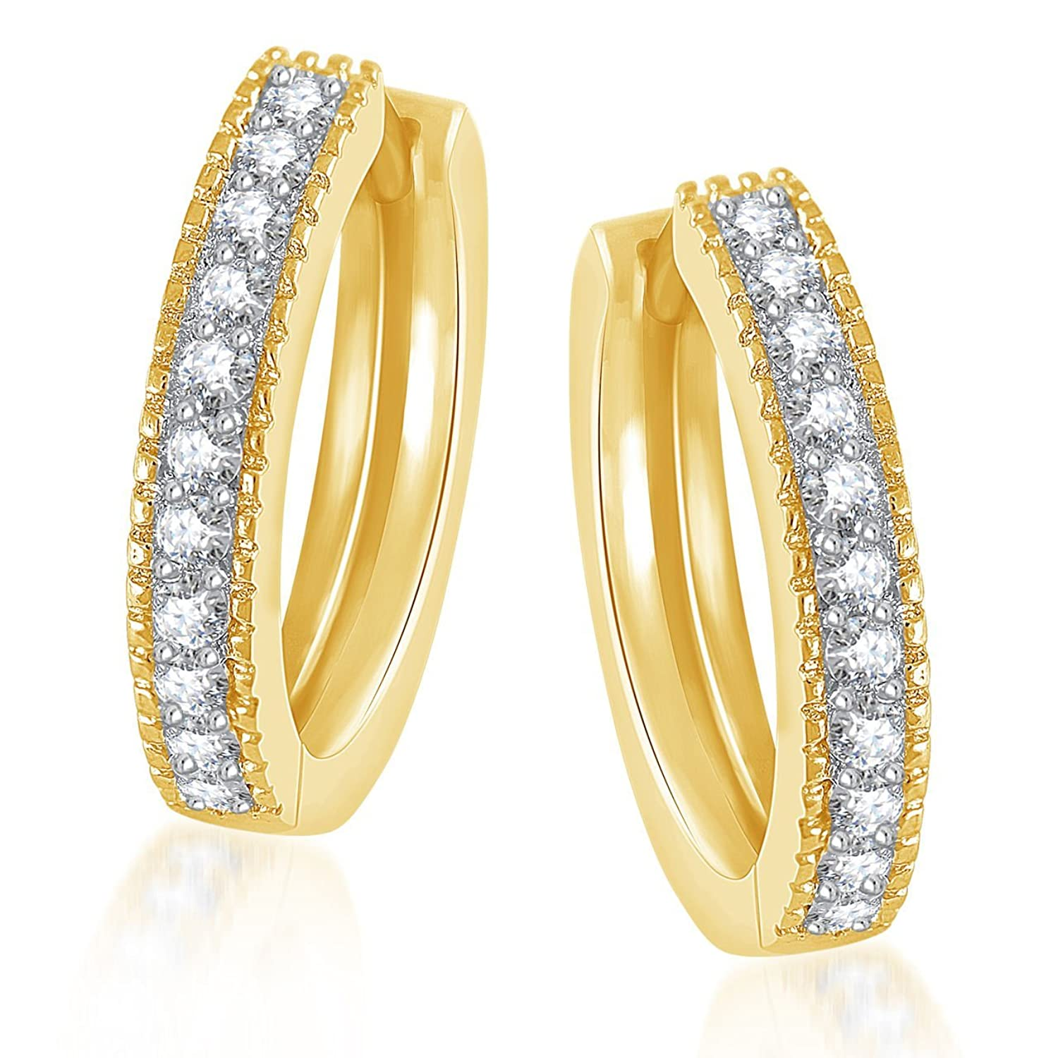 hi earrings en medium parfois basic ring hoop jewelry res com us golden