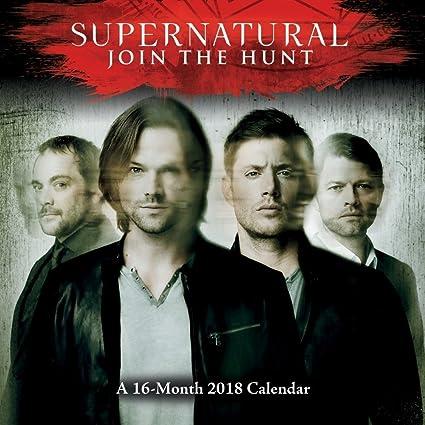 Amazon 16 Month Supernatural 2018 Wall Calendar Jensen Ackles