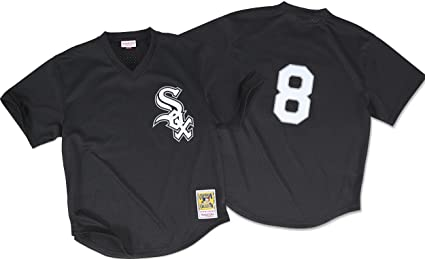 7d89b1aeb Bo Jackson Black Chicago White Sox Authentic Mesh Batting Practice Jersey  (2XL 52)