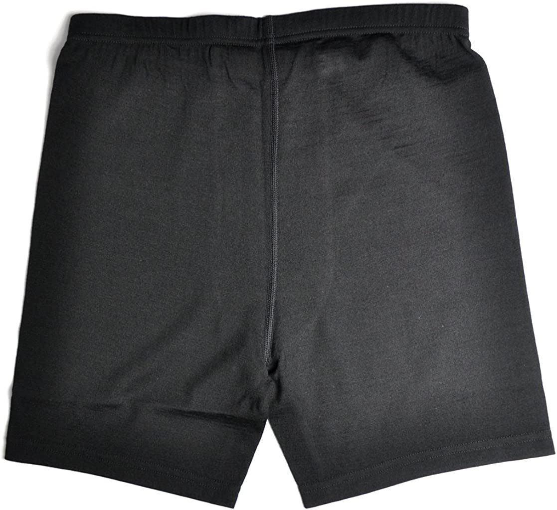 Sheep Run Mens 100/% Merino Wool Lightweight Athletic Brief Boxers with Fly