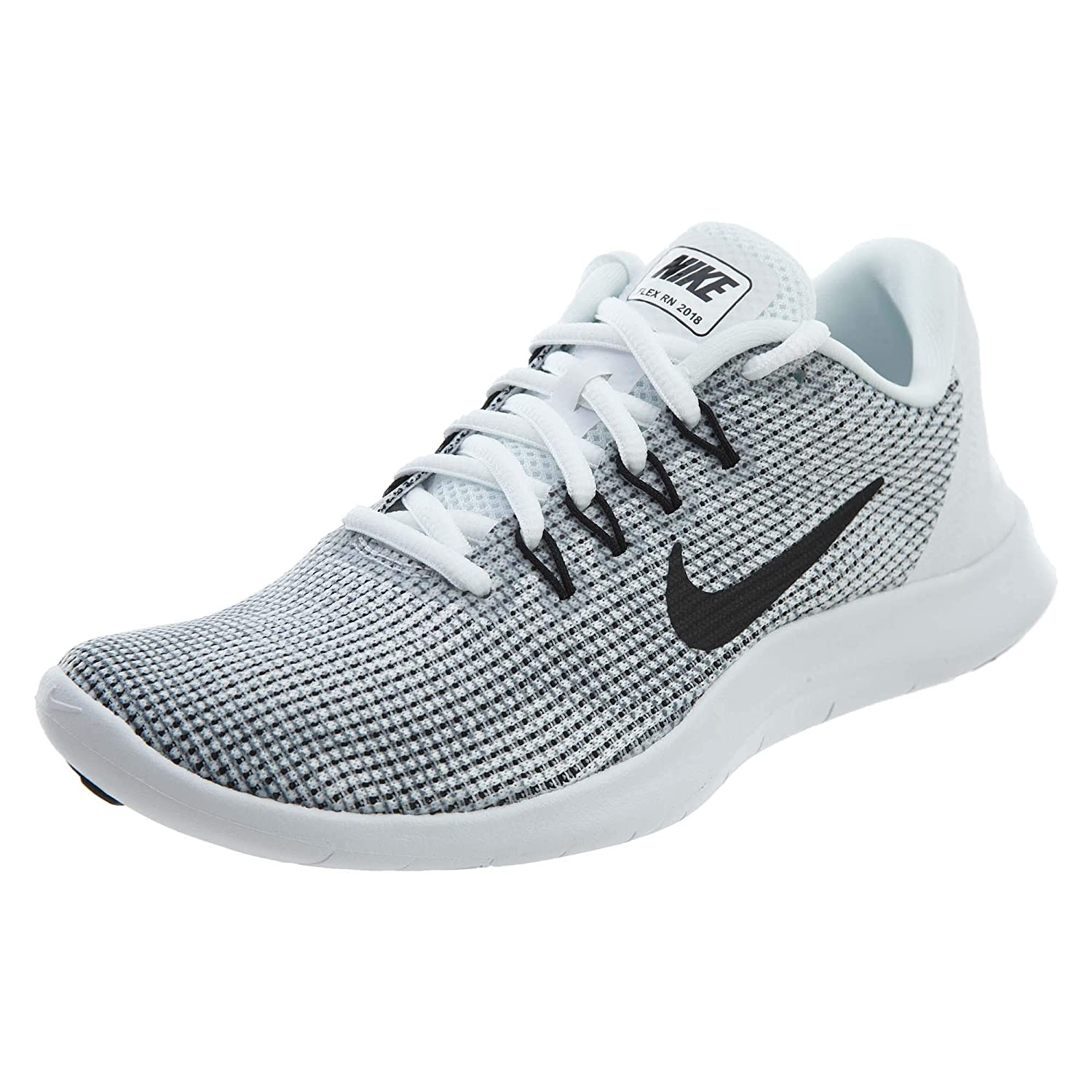 White Black-cool Grey Nike Men's Flex 2018 Rn Running shoes