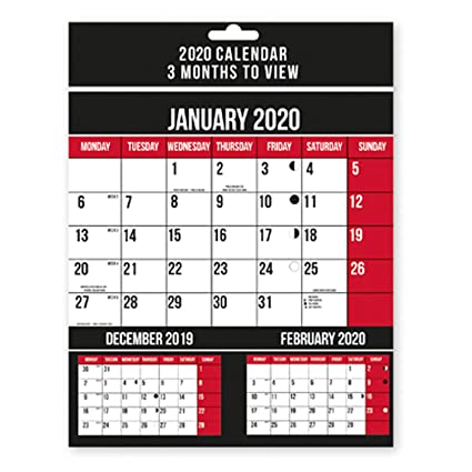 Amazon.com: Design Group 2020 - Calendario de pared con ...