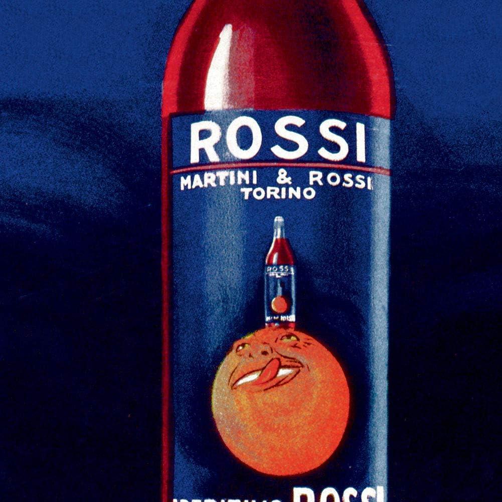 APERITIVIO ROSSI Vintage Italian Liquor Martini Ad Print Poster circa 1930 18x24
