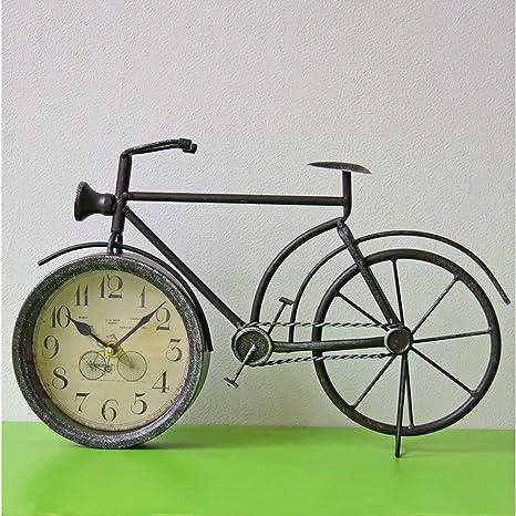fghfhfgjdfj América País Hierro Bicicleta Reloj de Pared ...