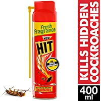 HIT Spray Crawling Insect Killer (400ml, Red)