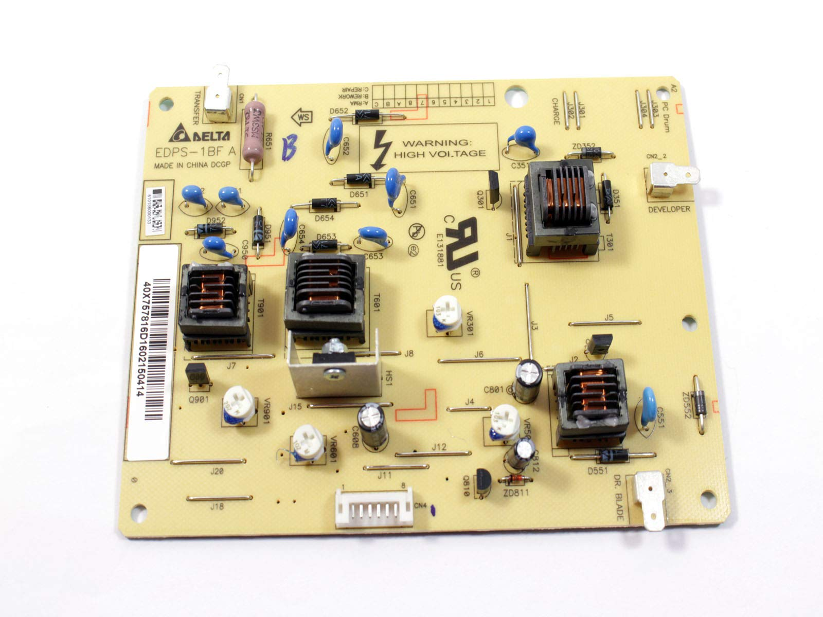 EbidDealz Genuine Power Supply Circuit Card Board EDPS-1BF A for Laser Printer B5460 B5465 B5465DNF & MS812de 6WT1V 06WT1V
