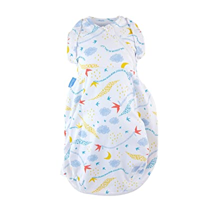 Cosy 0-3 Months The Gro Company Grey Marl Grosnug 2-in-1 Swaddle and Newborn Grobag