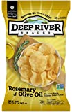 Deep River Snacks Kettle Chips, Rosemary & Olive Oil, 5-Ounce Bags (Pack of 12)