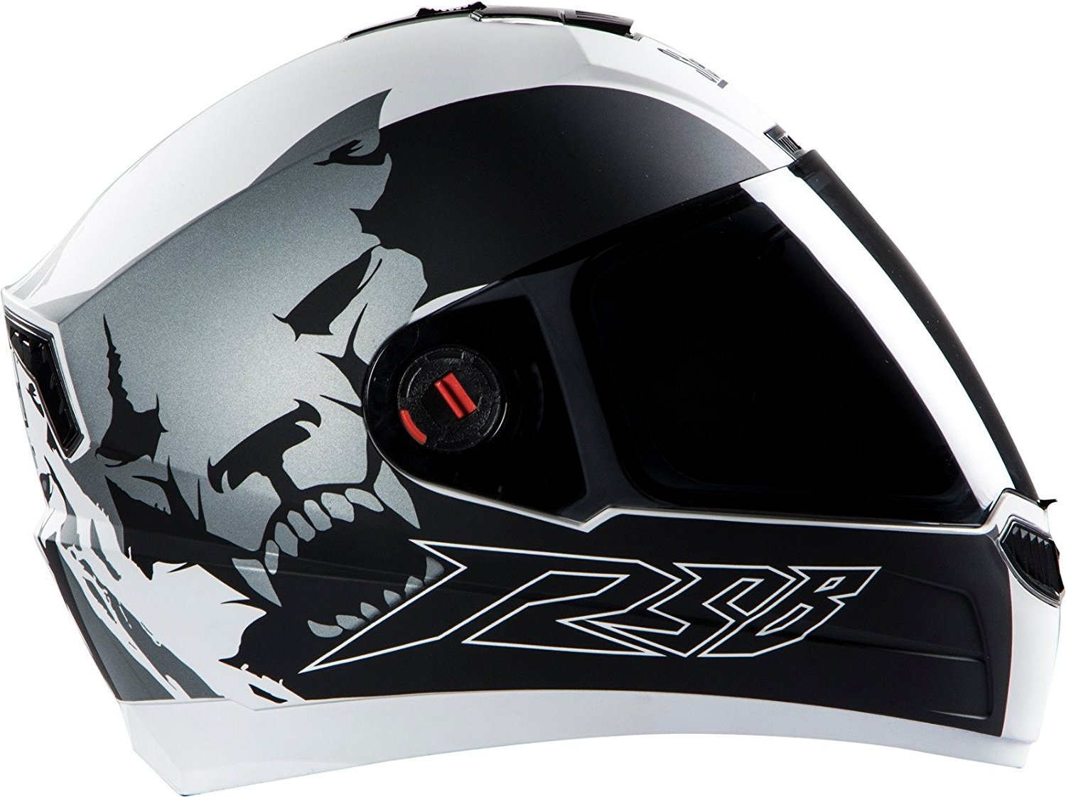 Steelbird Air Glossy Finish with Smoke Visor Helmet