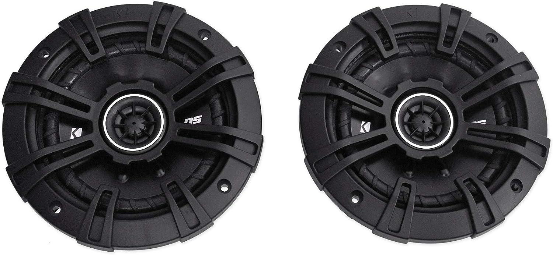 Kicker D-Series 2-Way Audio Coaxial Speakers