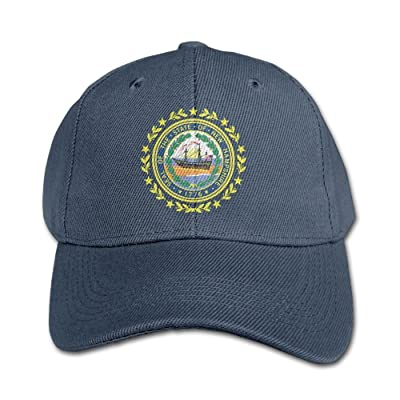 Elephant AN New-hampshire Flag Pure Color Baseball Cap Cotton Adjustable Kid Boys Girls Hat