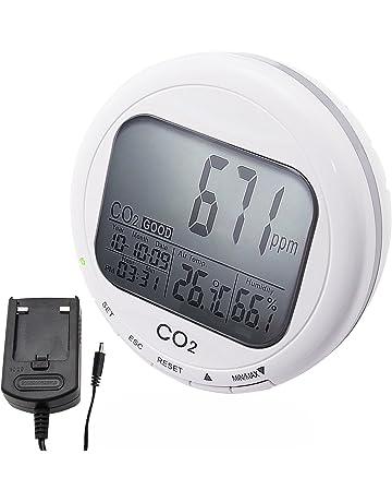 Medidor De CO2 Del Medidor De La Calidad Del Aire Interior 3 En 1/Termómetro